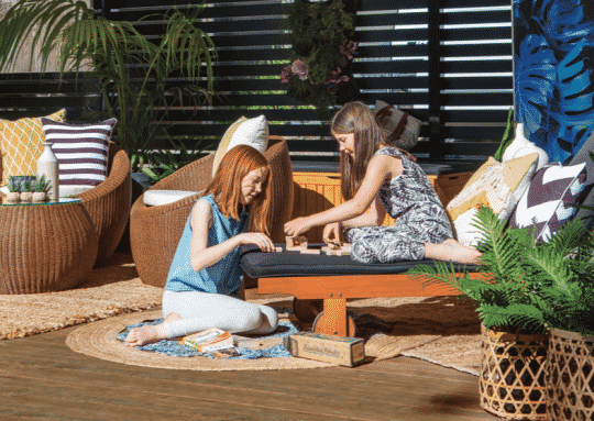 5 things to do with your family in your outdoor space
